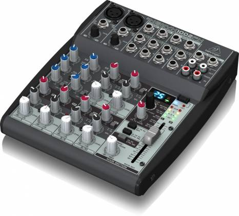 Behringer 1002FX Xenyx Series Premium 10-Input 2-Bus Mixer with British EQs and Multi-FX Processor Product Image 2