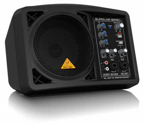 Behringer B205D Ultra Compact 150W PA/Monitor All in One Speaker System Product Image 3