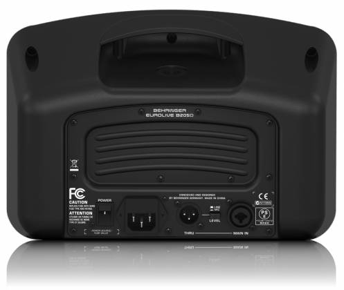 Behringer B205D Ultra Compact 150W PA/Monitor All in One Speaker System Product Image 4