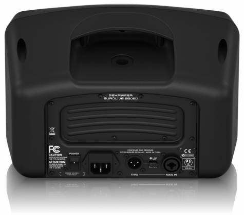 Behringer B205D Ultra Compact 150W PA/Monitor All in One Speaker System Product Image 7