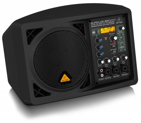 """Behringer B207MP3 Eurolive Series Active 150W 6.5"""" PA/Monitor All in One Speaker System with MP3 Player b-207-mp-3 Product Image 3"""