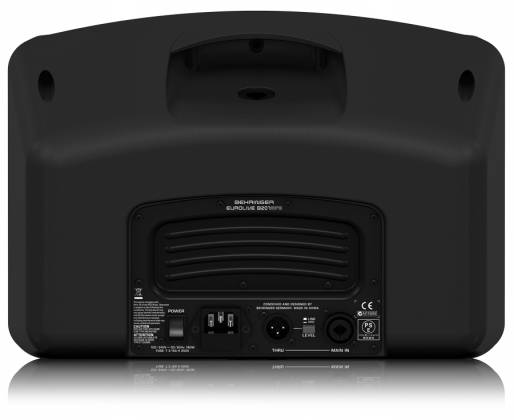 """Behringer B207MP3 Eurolive Series Active 150W 6.5"""" PA/Monitor All in One Speaker System with MP3 Player b-207-mp-3 Product Image 4"""