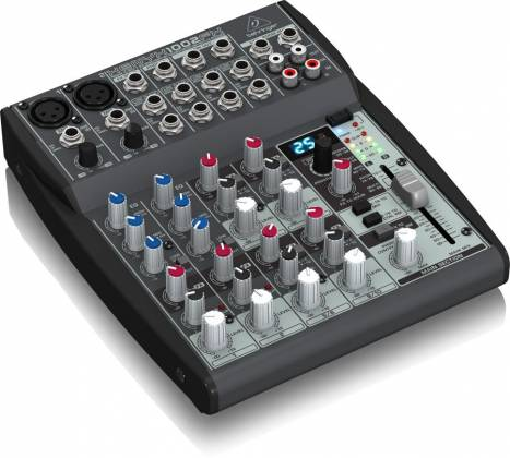 Behringer 1002FX Xenyx Series Premium 10-Input 2-Bus Mixer with British EQs and Multi-FX Processor Product Image 4