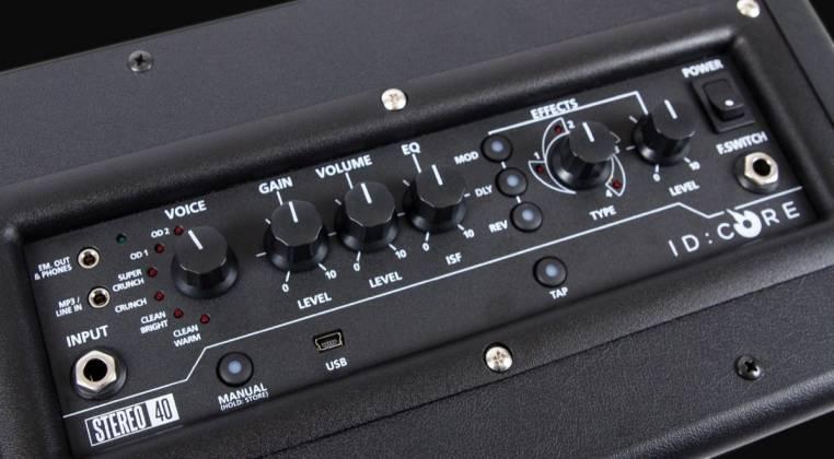 Blackstar ID:CORE 40 V2 - 40 Watt Stereo Combo Amplifier with PreSonus One Recording Software Product Image 7