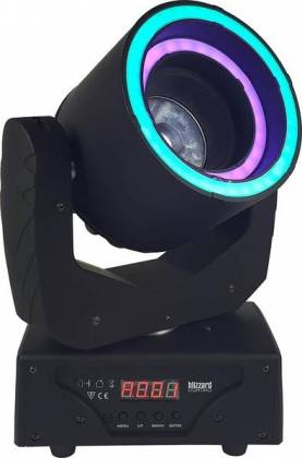 Blizzard HYPNO BEAM LED Moving Head Beam Fixture with programmable LED Rings hypno-beam Product Image 2
