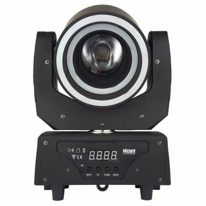 Blizzard HYPNO BEAM LED Moving Head Beam Fixture with programmable LED Rings hypno-beam Product Image 3