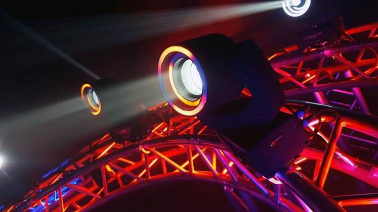 Blizzard HYPNO BEAM LED Moving Head Beam Fixture with programmable LED Rings hypno-beam Product Image 11