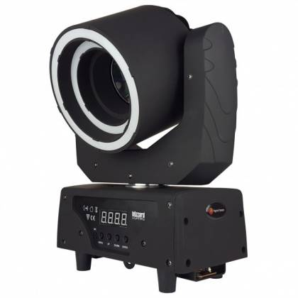 Blizzard HYPNO BEAM LED Moving Head Beam Fixture with programmable LED Rings hypno-beam Product Image 5