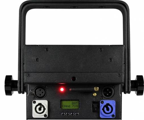 Blizzard SKYBOX EXA RGBAW+UV Par Fixture w/Rechargeable Battery & Wireless DMX-Black Product Image 4