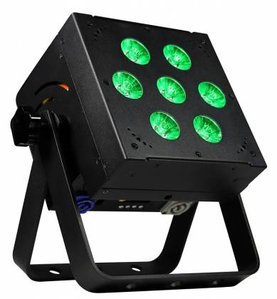 Blizzard SKYBOX W-DMX RGBAW+UV LED Rechargeable Battery Powered 2.4MHz Wireless DMX Wash Light -Black Product Image 5