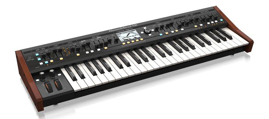 Behringer DEEPMIND 12 True Analog 12 Voice Polyphonic Synthesizer with 4 FX Engines Product Image 4