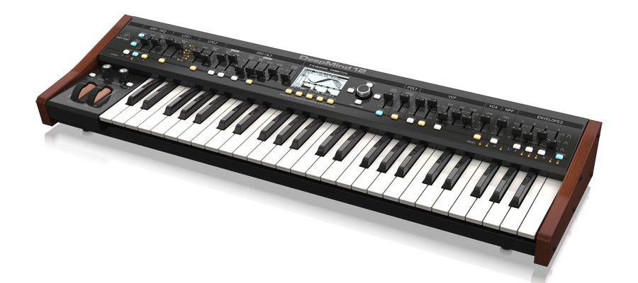 Behringer DEEPMIND 12 True Analog 12 Voice Polyphonic Synthesizer with 4 FX Engines Product Image 3