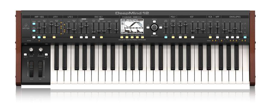 Behringer DEEPMIND 12 True Analog 12 Voice Polyphonic Synthesizer with 4 FX Engines Product Image 2