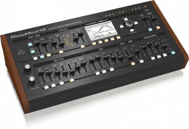 Behringer DEEPMIND12-D True Analog 12 Voice Polyphonic Desktop Synthesizer Product Image 2