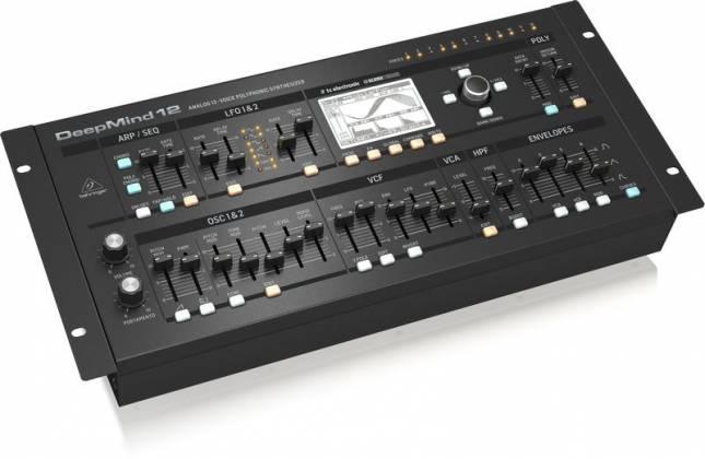 Behringer DEEPMIND12-D True Analog 12 Voice Polyphonic Desktop Synthesizer Product Image 3