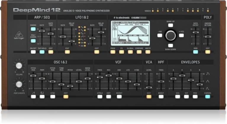 Behringer DEEPMIND12-D True Analog 12 Voice Polyphonic Desktop Synthesizer Product Image 7