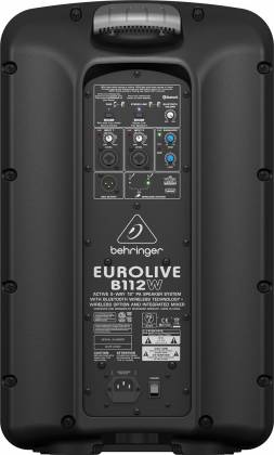 "Behringer B112W Eurolive 1000W 12"" Powered Speaker with Bluetooth Product Image 6"