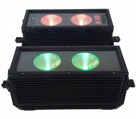 Blizzard BLOK 4 IP Outdoor Rated 4 25W RGBAW COB LEDs Dual Bar Light with Anyfi Wireless DMX Product Image 4