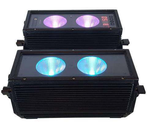 Blizzard BLOK 4 IP Outdoor Rated 4 25W RGBAW COB LEDs Dual Bar Light with Anyfi Wireless DMX Product Image 5