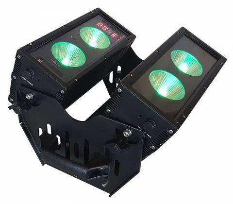Blizzard BLOK 4 IP Outdoor Rated 4 25W RGBAW COB LEDs Dual Bar Light with Anyfi Wireless DMX Product Image 6