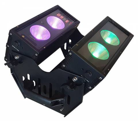 Blizzard BLOK 4 IP Outdoor Rated 4 25W RGBAW COB LEDs Dual Bar Light with Anyfi Wireless DMX Product Image 7