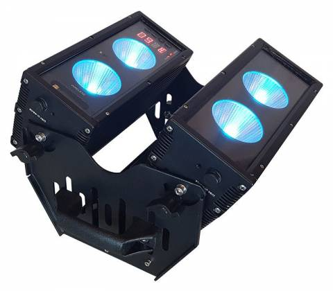 Blizzard BLOK 4 IP Outdoor Rated 4 25W RGBAW COB LEDs Dual Bar Light with Anyfi Wireless DMX Product Image 8