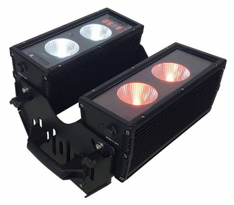 Blizzard BLOK 4 IP Outdoor Rated 4 25W RGBAW COB LEDs Dual Bar Light with Anyfi Wireless DMX Product Image 14