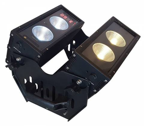 Blizzard BLOK 4 IP Outdoor Rated 4 25W RGBAW COB LEDs Dual Bar Light with Anyfi Wireless DMX Product Image 15