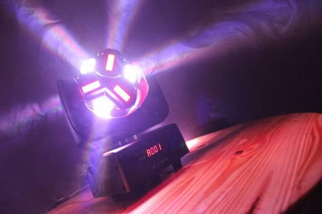 "Blizzard SNAKE EYES MINI ""Fun Sized"" 6 CREE 10W RGBW LED Cube Moving Head Light Product Image 2"