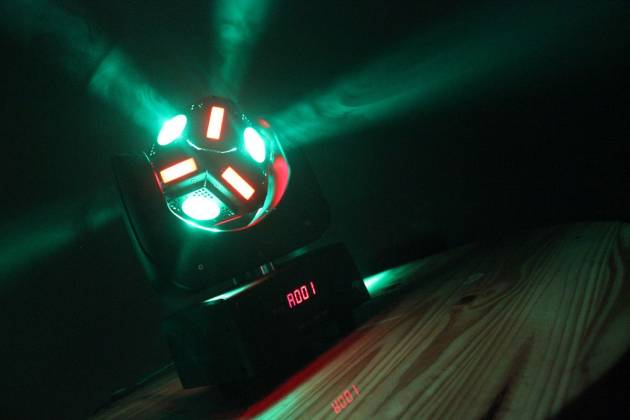 "Blizzard SNAKE EYES MINI ""Fun Sized"" 6 CREE 10W RGBW LED Cube Moving Head Light Product Image 5"