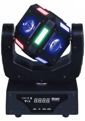 "Blizzard SNAKE EYES MINI ""Fun Sized"" 6 CREE 10W RGBW LED Cube Moving Head Light Product Image 9"