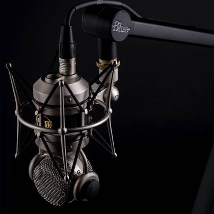 Blue Microphones B Compass Arm Professional Broadcast Grade Boom Arm with  Hidden Channel Cable Management