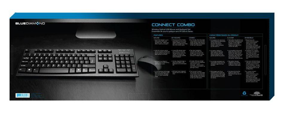 BlueDiamond 36232 Wireless Pro Keyboard and Mouse Combo Product Image 4
