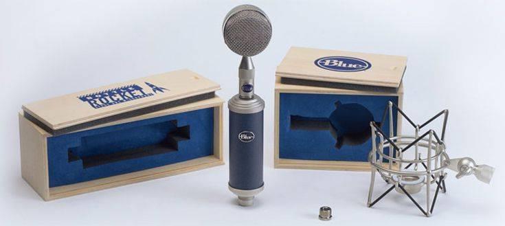Blue Microphones Bottle RS1 Bottle Rocket Stage 1 Large Diaphragm Studio Condenser Microphone Product Image 6