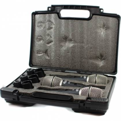 CAD Audio D32X3 CADLive D32 Supercardioid Dynamic Handheld Microphone (3 Pack) Product Image 3