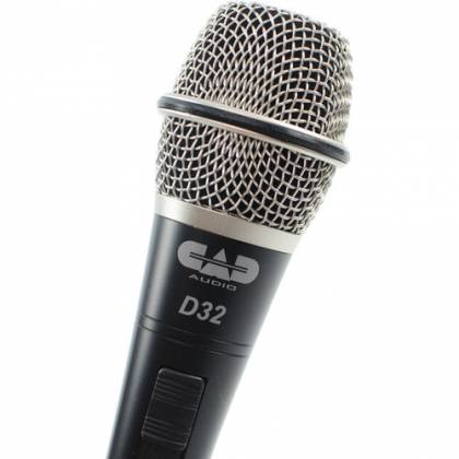 CAD Audio D32X3 CADLive D32 Supercardioid Dynamic Handheld Microphone (3 Pack) Product Image 4