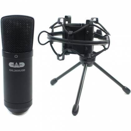 CAD Audio GXL2600USB Large Diaphragm Studio Condenser USB Microphone Product Image 3
