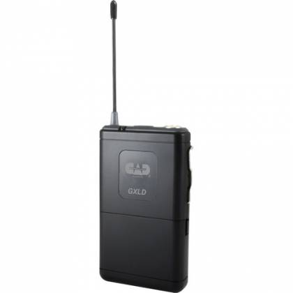 CAD Audio GXLD2HBAH Digital Dual-Channel Wireless Microphone System with Handheld and Bodypack Transmitters (AH: 902.9 to 915.5 MHz) Product Image 4