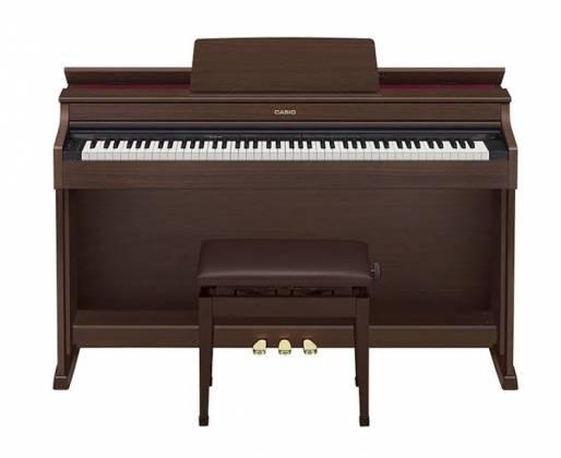 casio ap470bn celviano digital piano brown keyboards digital pianos upright acclaim sound. Black Bedroom Furniture Sets. Home Design Ideas