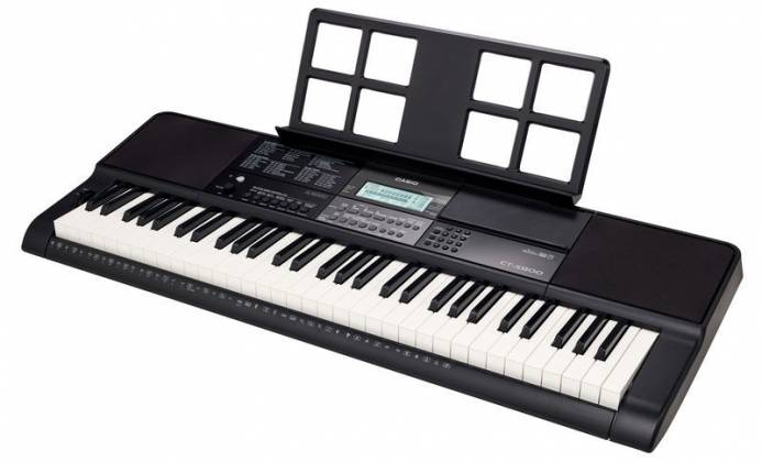 Casio CTX800 61-Key Portable Keyboard Product Image 2