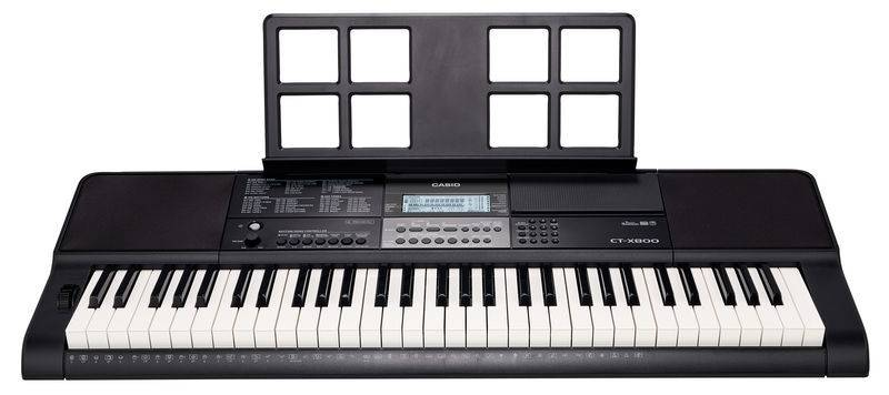 Casio CTX800 61-Key Portable Keyboard Product Image 3