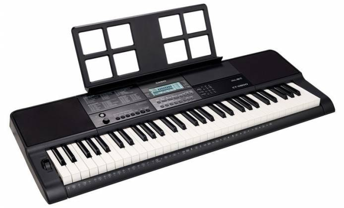 Casio CTX800 61-Key Portable Keyboard Product Image 4