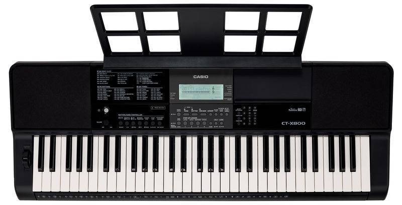 Casio CTX800 61-Key Portable Keyboard Product Image 6