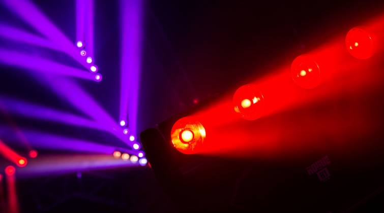 Chauvet Pro ROGUE-R1-FXB Multi-Beam Moving Head LED Light
