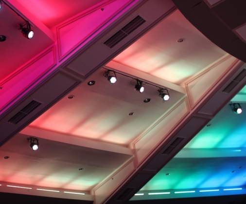 Chauvet DJ COLORRail IRC RGB LED Linear Wash Light Product Image 11