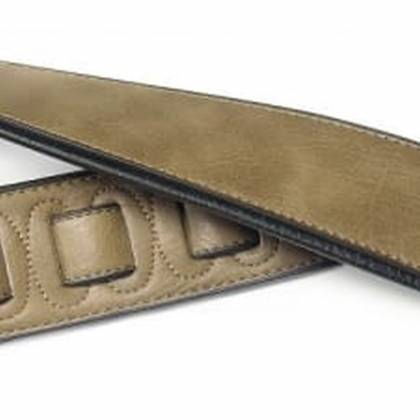 Stagg SPFL 30 COP Padded Leather-Style Guitar Strap in Copper Product Image 2