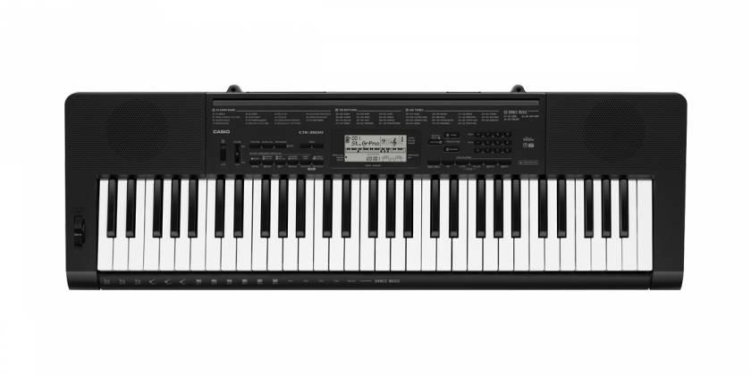 Casio CTK3500 61 Key Portable Electronic Keyboard Product Image 2