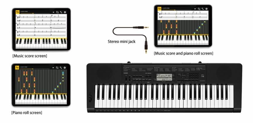 Casio CTK3500 61 Key Portable Electronic Keyboard Product Image 6