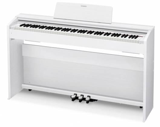casio px870we privia 88 key digital piano white keyboards digital pianos upright acclaim. Black Bedroom Furniture Sets. Home Design Ideas
