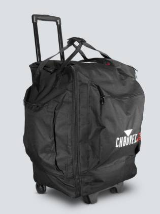 Chauvet DJ CHS-50 Soft Sided Lighting Bag with Wheels and a Retractable Handle Product Image 2
